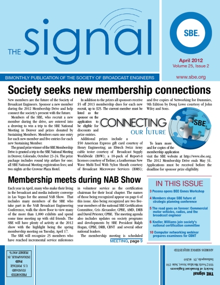 The Signal April 2012 Issue