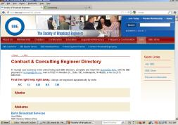Contract and Consulting Engineer listing